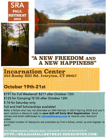 Fall Retreat Flyer